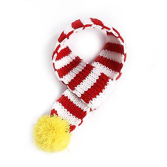 Pet Cat Dog Christmas Costume Scarfgreen S