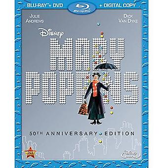 Mary Poppins: 50th Anniversary Edition [BLU-RAY] USA importare