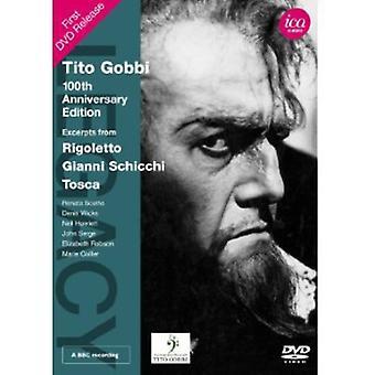 Verdi/Puccini - Tito Gobbi: 100th Anniversary Edition [DVD] USA import