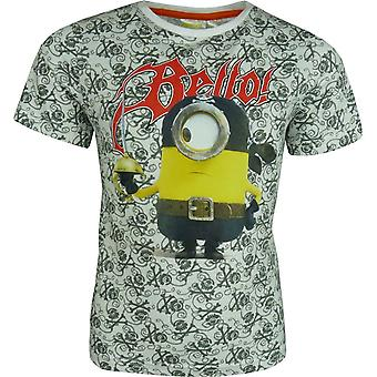 Boys Despicable Me Minions short sleeve T-shirt