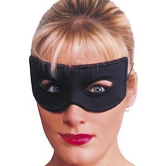 Banditen-Augenmaske, Schwarz