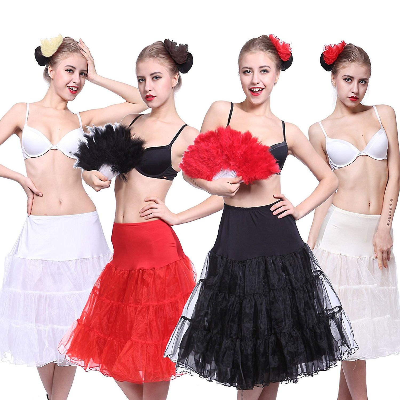 50's Vintage Rockabilly Petticoat Skirt, 18