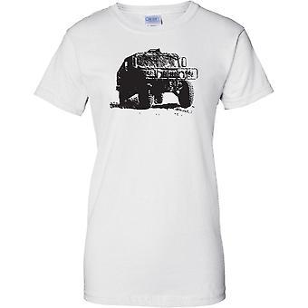US Army Humvee - gepanzerte Militärfahrzeug - Damen-T-Shirt