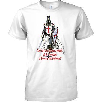 Caballero del Reino - San Jorge - Inglaterra patriota - camiseta para hombre