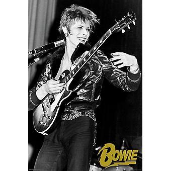 David Bowie - kitara juliste Juliste Tulosta