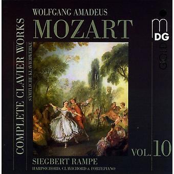 W.a. Mozart - Mozart: Complete Clavier Works, Vol. 10 [CD] USA import