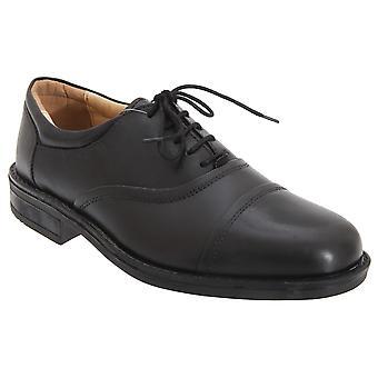 Roamers miesten pehmo nahka silmänsä Flexi rajattu miesten kengät