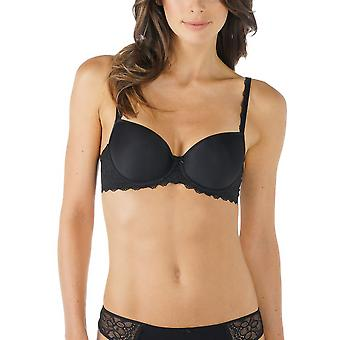 Mey 74801-3 Women's Allegra Black Solid Colour Underwired Full Cup Bra