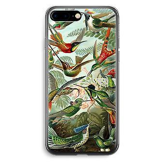 iPhone 7 Plus transparant Case (Soft) - Haeckel kolibries (Trochilidae)