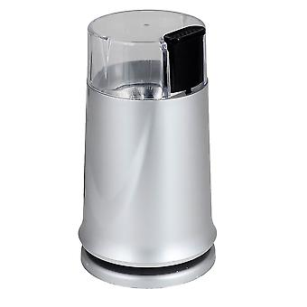 Kabalo 150W Electric Coffee Bean Grinder & Nut/Spice Grinder Kitchen Accessory (Silver)