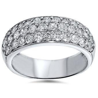1 1 / 2ct bana Diamond bröllop årsdagen 14K ny Ring