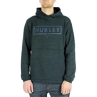Hurley Bayside boxed Pullover Hoody i lera grön