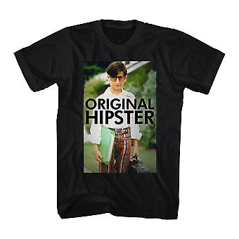 The Wonder Years Original Hipster Men's Black T-shirt