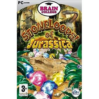 Brain College Stoneloops of Jurassica PC - As New