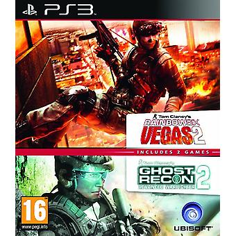 Ubisoft Double Pack - Rainbow Six Vegas 2 and Ghost Recon Advanced Warfighter 2 - Legacy Edition (P - New