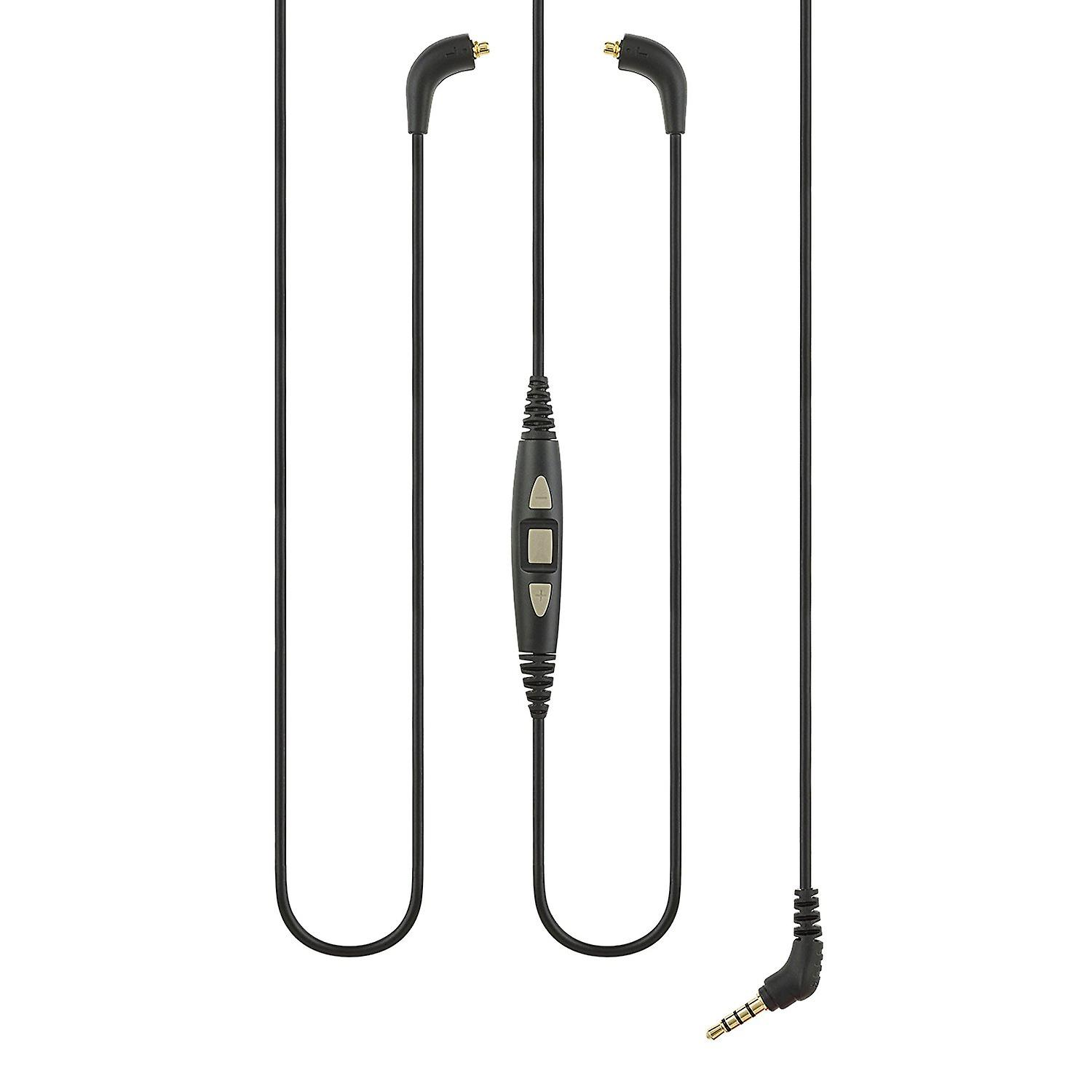 Replacement Shure CBL-M+-K-EFS Audio Cable with In-Line Remote + Mic