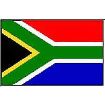 South Africa/South African Flag 5ft x 3ft (100% Polyester) Eyelets