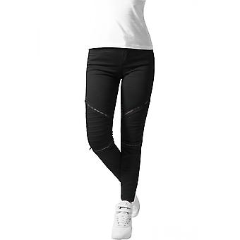 Urban Classics Damen Jeans Stretch Biker Pants