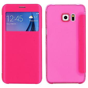 Smartcover Window Rosa für Samsung Galaxy S6 Edge Plus G928 F