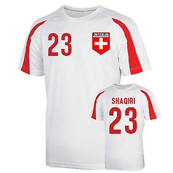 Sveits Sports trening Jersey (shaqiri 23) - barn