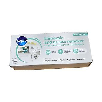 Limescale And Detergent Remover for Dishwashers and Washing Machines 12 pack