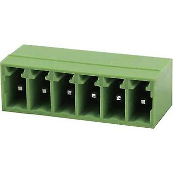 Degson Socket enclosure - PCB Total number of pins 6 Contact spacing: 3.5 mm 15EDGRC-3.5-06P-14-00AH 1 pc(s)