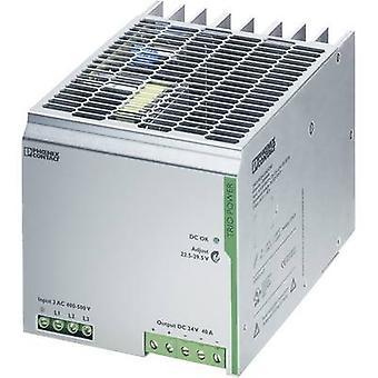فينيكس الاتصال TRIO-PS/3AC/24DC/40 السكك الحديدية التي شنت PSU (DIN) 24 V DC 40 A 960 W 1 x