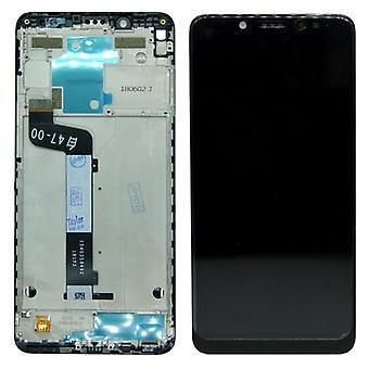 עבור שיאומי Redmi הערה 5 תיקון צג LCD מלא עם מסגרת מגע שחור החלפת
