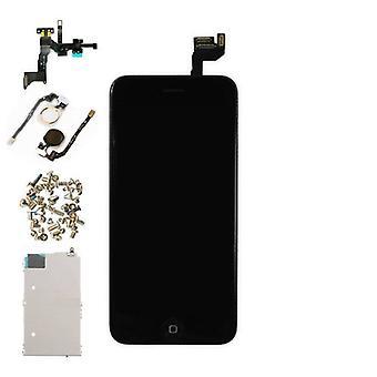 الاشياء المعتمدة ® اي فون 6S 4.7 & نقلا عن الشاشة قبل تجميعها (شاشة تعمل باللمس + LCD + أجزاء) AA + جودة - أسود