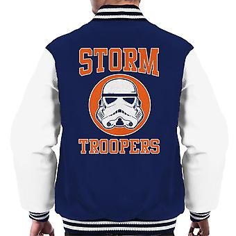 Original Stormtrooper Orange College Text Men's Varsity Jacket