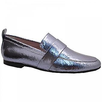 Kennel Und Schmenger High Front Metallic Slipon Moccasin Shoe