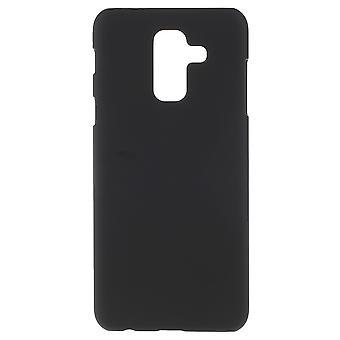Samsung Galaxy A6 Plus Twarda plastikowa powłoka - Czarna