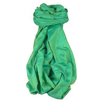 Varanasi Silk Long Schal Heritage Range Sahni 3 Teal von Pashmina & Seide