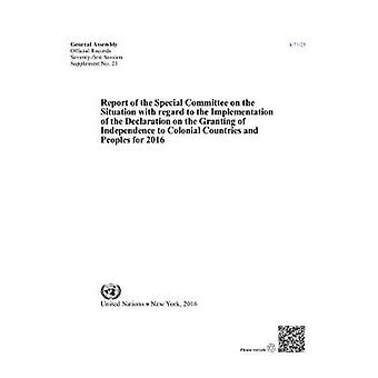 Betänkande från det särskilda utskottet om situationen I
