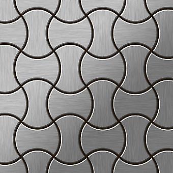 Metal mosaik Rustfrit stål Alloy Infinit-S-S-B