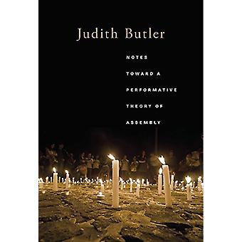 Notas hacia una teoría performativa de la Asamblea de Judith Butler - 978