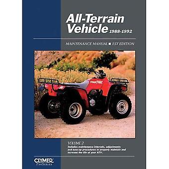 All-Terrain Vehicle Maintenance Manual, 1988-1992