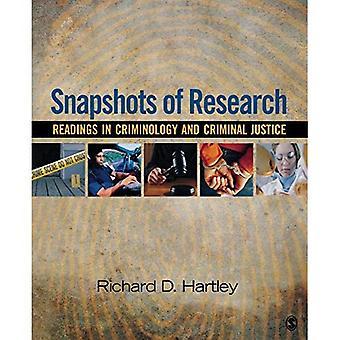 Instantanés de la recherche: Readings in Criminology and Criminal Justice
