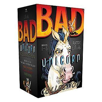 Jednorożec złe kolekcja: Bad jednorożca; Puch smoka; Dobry Ogre (Bad Unicorn Trylogia)