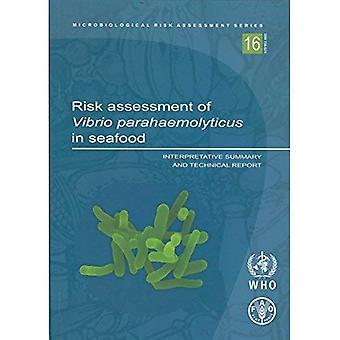 Risicobeoordeling van Vibrio Parahaemolyticus in zeevruchten