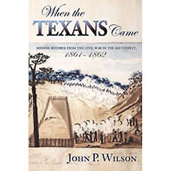Die Texaner kam: fehlende Datensätze aus dem Bürgerkrieg im Südwesten, 1861-1862