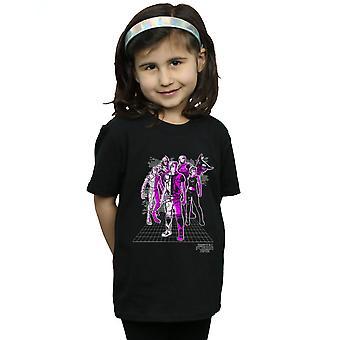 Spieler ein Mädchen die hohe fünf T-Shirt bereit