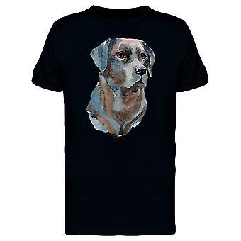 Labrador malarstwo Koszulka męska-obraz przez Shutterstock