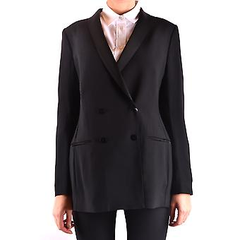 Alberta Ferretti Ezbc027010 Women's Black Acetate Blazer