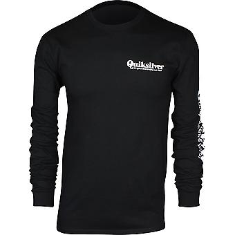 Quiksilver Mens Twin Fin Mates LS chemise - noir