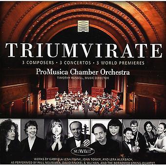 Promusica kammarorkester - triumviratet [CD] USA import