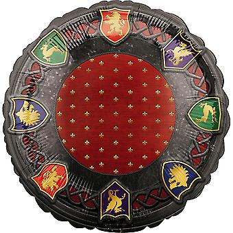 Anagram Medieval Round Foil Balloon