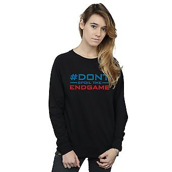 Marvel Women's Avengers Endgame Don't Spoil The Endgame Sweatshirt