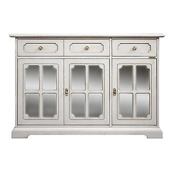 Classic Sideboard 3 portes vitrine
