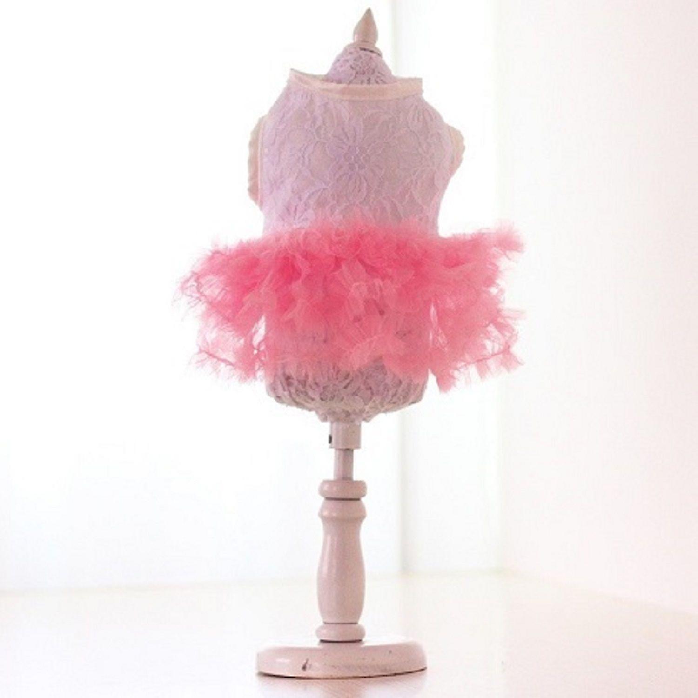 Candy Pink Tutu Skirt Dog Dress